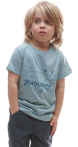 Houdini Kids Rock Steady Tee Cali Peach